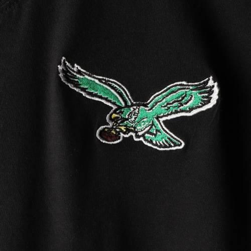 ミッチェル&ネス MITCHELL & NESS フィラデルフィア イーグルス ヘンリー Tシャツ 黒 ブラック メンズファッション トップス カットソー メンズ 【 Philadelphia Eagles Mitchell And Ness Big And Tall