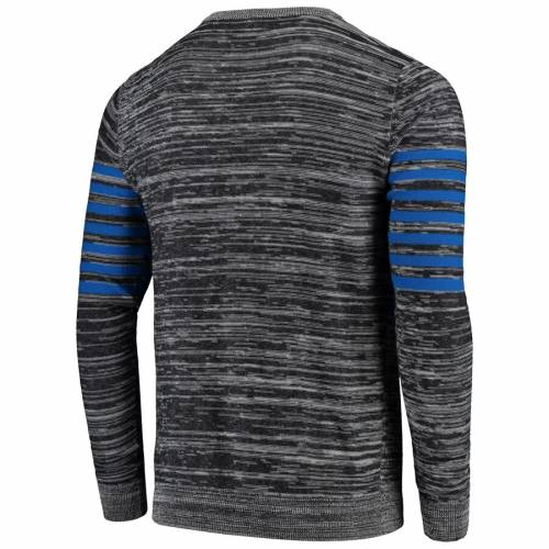 FOCO ラムズ ニット スリーブ ヘンリー Tシャツ 灰色 グレー グレイ メンズファッション トップス カットソー メンズ 【 Los Angeles Rams Retro Marled Knit Long Sleeve Henley T-shirt - Gray 】 Gray