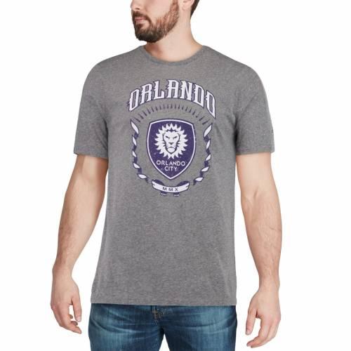 アディダス ADIDAS オーランド シティ Tシャツ チャコール メンズファッション トップス カットソー メンズ 【 Orlando City Sc True Colors Tri-blend T-shirt - Heathered Charcoal 】 Heathered Charcoal