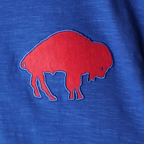 ミッチェル&ネス MITCHELL & NESS バッファロー ビルズ スリーブ ヘンリー Tシャツ メンズファッション トップス カットソー メンズ 【 Buffalo Bills Mitchell And Ness Big And Tall First Round Pick Long