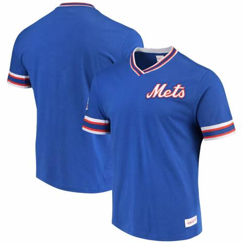 ミッチェル&ネス MITCHELL & NESS メッツ ビンテージ ヴィンテージ Tシャツ 2.0 メンズファッション トップス カットソー メンズ 【 New York Mets Mitchell And Ness Overtime Win Vintage 2.0 T-shirt - Royal