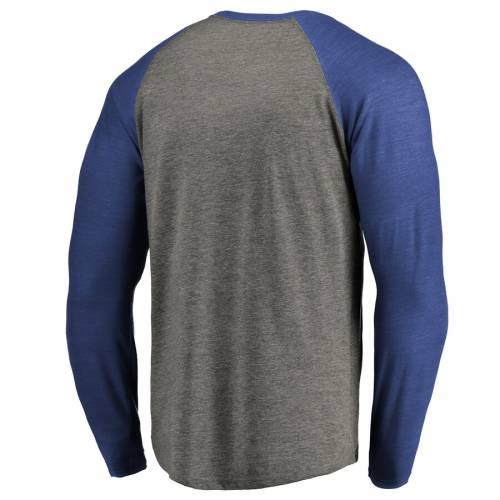 NFL PRO LINE BY FANATICS BRANDED インディアナポリス コルツ コレクション スリーブ ラグラン Tシャツ メンズファッション トップス カットソー メンズ 【 Indianapolis Colts Throwback Collection Season Tic