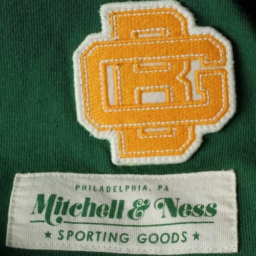 ミッチェル&ネス MITCHELL & NESS 緑 グリーン パッカーズ フィールド スリーブ Tシャツ メンズファッション トップス カットソー メンズ 【 Green Bay Packers Mitchell And Ness Field Goal Long Sleeve T