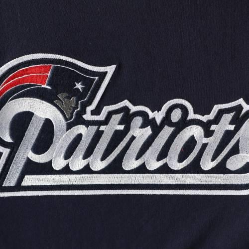 ミッチェル&ネス MITCHELL & NESS ペイトリオッツ ブイネック Tシャツ 紺 ネイビー メンズファッション トップス カットソー メンズ 【 New England Patriots Mitchell And Ness Overtime Win V-neck T-shirt