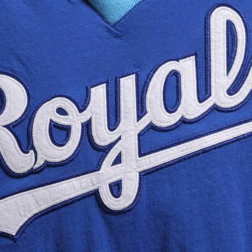 ミッチェル&ネス MITCHELL & NESS カンザス シティ ロイヤルズ ブイネック Tシャツ メンズファッション トップス カットソー メンズ 【 Kansas City Royals Mitchell And Ness Overtime Win V-neck T-shirt -