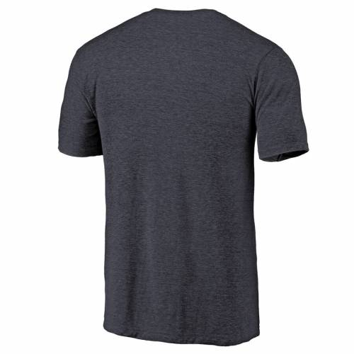 NFL PRO LINE BY FANATICS BRANDED シカゴ ベアーズ プロ ロゴ Tシャツ 【 BEARS CHICAGO PRIMARY LOGO LEFT CHEST DISTRESSED TRIBLEND TSHIRT HEATHERED NAVY 】 メンズファッション トップス カットソー 送料無料