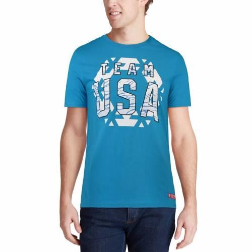 スポーツブランド カジュアル ファッション 高額売筋 トップス 半袖 アウタースタッフ OUTERSTUFF チーム Tシャツ TEAM TSHIRT FLAKE USA ROYAL SNOW 数量は多 メンズファッション カットソー