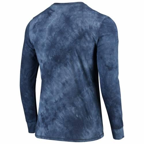 CONCEPTS SPORT ラムズ ヘンリー スリーブ Tシャツ 紺 ネイビー メンズファッション トップス カットソー メンズ 【 Los Angeles Rams Altar Tie-dye Henley Long Sleeve T-shirt - Navy 】 Navy