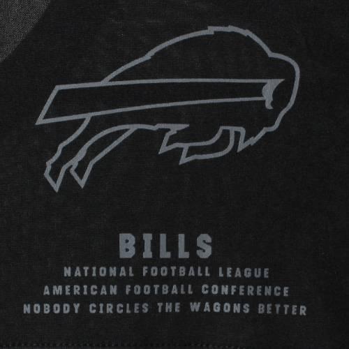 ナイキ NIKE バッファロー ビルズ パフォーマンス ヘンリー Tシャツ メンズファッション トップス カットソー メンズ 【 Buffalo Bills Performance Henley 3/4-sleeve T-shirt - Heathered Gray/black 】 Heathere