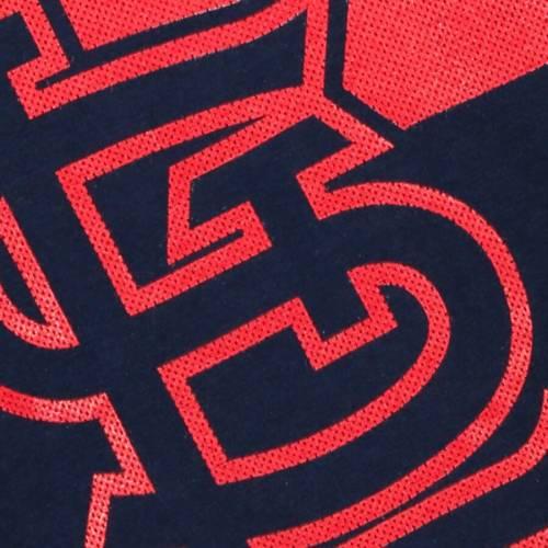 マジェスティック MAJESTIC マジェスティック カーディナルス Tシャツ 紺 ネイビー ST. 【 NAVY MAJESTIC LOUIS CARDINALS PASS THROUGH TSHIRT 】 メンズファッション トップス Tシャツ カットソー