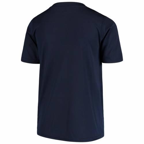 OUTERSTUFF シティ 子供用 パフォーマンス Tシャツ 紺 ネイビー キッズ ベビー マタニティ トップス ジュニア 【 Manchester City Youth Performance T-shirt - Navy 】 Navy