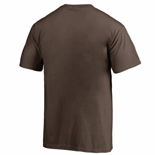 NFL PRO LINE BY FANATICS BRANDED クリーブランド ブラウンズ 子供用 ビクトリー Tシャツ 茶 ブラウン キッズ ベビー マタニティ トップス ジュニア 【 Cleveland Browns Youth Victory Arch T-shirt - Brown 】 B