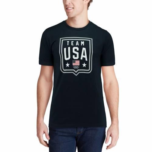 OUTERSTUFF チーム Tシャツ 紺 ネイビー メンズファッション トップス カットソー メンズ 【 Team Usa Shielded T-shirt - Navy 】 Navy