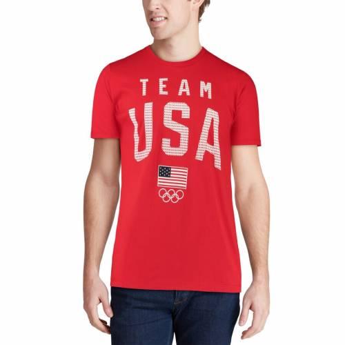 OUTERSTUFF チーム Tシャツ 【 TEAM USA MESH IDENTITY FLAG TSHIRT RED 】 メンズファッション トップス カットソー 送料無料