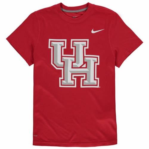 ナイキ NIKE ヒューストン 子供用 ロゴ レジェンド パフォーマンス Tシャツ 赤 レッド キッズ ベビー マタニティ トップス ジュニア 【 Houston Cougars Youth Logo Legend Performance T-shirt - Red 】 Red