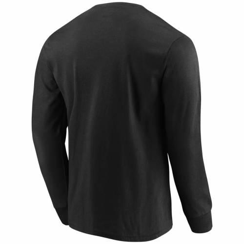 マジェスティック MAJESTIC ミネソタ バイキングス スリーブ Tシャツ 黒 ブラック メンズファッション トップス カットソー メンズ 【 Minnesota Vikings Big And Tall Startling Success Long Sleeve T-shirt -