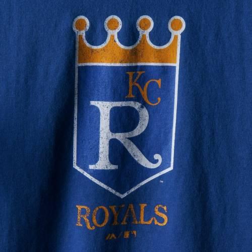 マジェスティック MAJESTIC カンザス シティ ロイヤルズ 子供用 ベースボール クーパーズタウン コレクション Tシャツ キッズ ベビー マタニティ トップス ジュニア 【 Kansas City Royals Youth