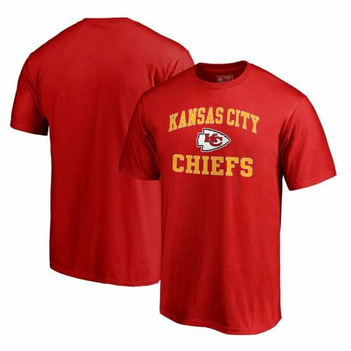 NFL PRO LINE BY FANATICS BRANDED カンザス シティ チーフス プロ ビンテージ ヴィンテージ コレクション ビクトリー Tシャツ & 【 VINTAGE VICTORY KANSAS CITY CHIEFS COLLECTION ARCH BIG TALL TSHIRT RED 】 メン