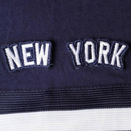ミッチェル&ネス MITCHELL & NESS ヤンキース ブイネック Tシャツ 紺 ネイビー メンズファッション トップス カットソー メンズ 【 New York Yankees Mitchell And Ness Big And Tall Overtime Win V-neck T-shi