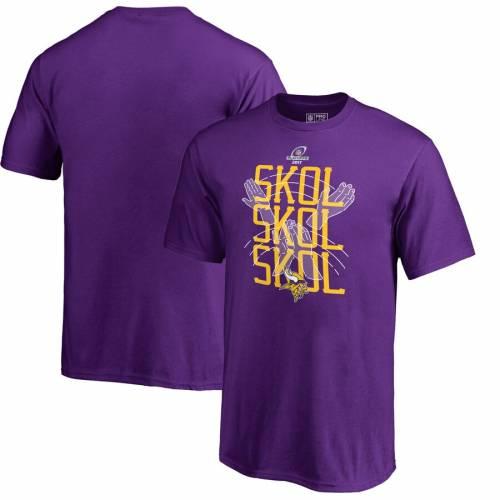 NFL PRO LINE BY FANATICS BRANDED ミネソタ バイキングス 子供用 Tシャツ 紫 パープル キッズ ベビー マタニティ トップス ジュニア 【 Minnesota Vikings Youth Skol Clap T-shirt - Purple 】 Purple
