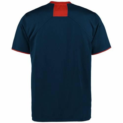 アンダーアーマー UNDER ARMOUR タイガース サイドライン パフォーマンス Tシャツ 紺 ネイビー メンズファッション トップス カットソー メンズ 【 Auburn Tigers Sideline Huddle Performance T-shirt - Na