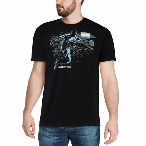 OUTERSTUFF アルゼンチン チーム Tシャツ 【 TEAM ARGENTINA NATIONAL TIE BREAKER TSHIRT BLACK 】 メンズファッション トップス カットソー 送料無料