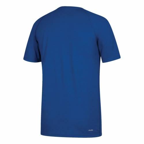 アディダス ADIDAS カンザス Tシャツ 【 ADIDAS KANSAS JAYHAWKS 50TH TSHIRT ROYAL 】 メンズファッション トップス Tシャツ カットソー