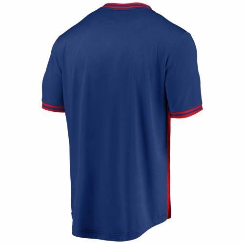 マジェスティック MAJESTIC フィラデルフィア フィリーズ クール ブイネック Tシャツ メンズファッション トップス カットソー メンズ 【 Philadelphia Phillies Good Graces Cool Base V-neck T-shirt - Red/