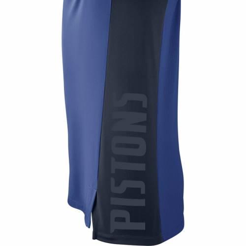 ナイキ NIKE デトロイト ピストンズ エリート パフォーマンス スリーブ Tシャツ 青 ブルー メンズファッション トップス カットソー メンズ 【 Detroit Pistons Elite Shooter Performance Long Sleeve T-s