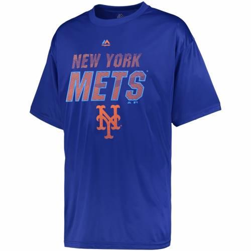 マジェスティック MAJESTIC メッツ Tシャツ メンズファッション トップス カットソー メンズ 【 New York Mets Big And Tall Brotherhood T-shirt - Royal 】 Royal