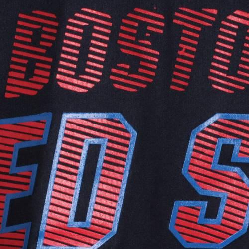 マジェスティック MAJESTIC ボストン 赤 レッド Tシャツ & 【 RED BOSTON SOX BIG TALL BROTHERHOOD TSHIRT NAVY 】 メンズファッション トップス カットソー 送料無料