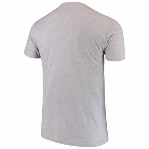 リーボック REEBOK リーボック ロゴ グラフィック Tシャツ 灰色 グレー グレイ 【 REEBOK GRAY UFC STIPE MIOCIC FIRE LOGO GRAPHIC TSHIRT HEATHERED 】 メンズファッション トップス Tシャツ カットソー
