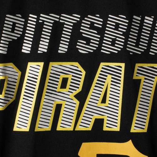 マジェスティック MAJESTIC ピッツバーグ 海賊団 Tシャツ 黒 ブラック メンズファッション トップス カットソー メンズ 【 Pittsburgh Pirates Big And Tall Brotherhood T-shirt - Black 】 Black