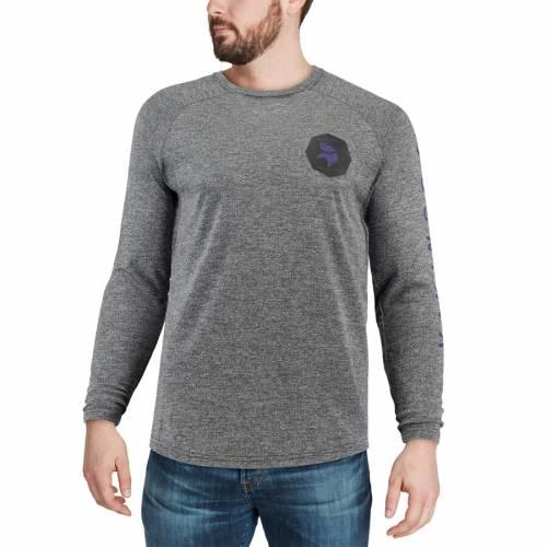 ナイキ NIKE ミネソタ バイキングス ギア スタジアム スリーブ Tシャツ 黒 ブラック メンズファッション トップス カットソー メンズ 【 Minnesota Vikings Fan Gear Stadium Long Sleeve T-shirt - Black 】