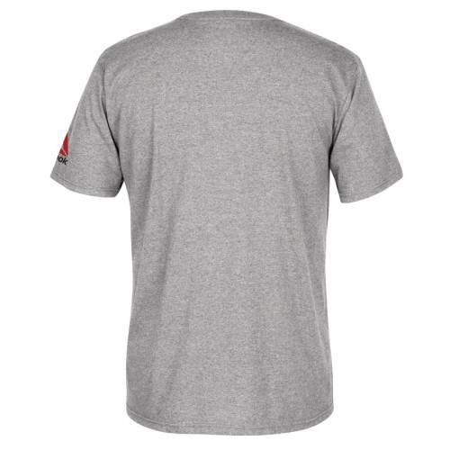 リーボック REEBOK リーボック Tシャツ 灰色 グレー グレイ 【 REEBOK GRAY BROCK LESNAR UFC 200 GREATNESS RETURNS TSHIRT HEATHERED 】 メンズファッション トップス Tシャツ カットソー
