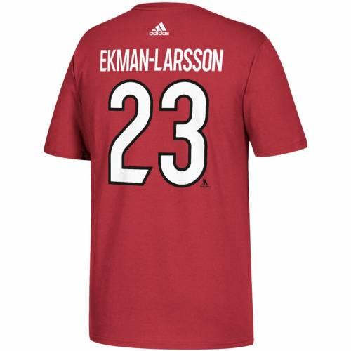 アディダス ADIDAS アリゾナ Tシャツ メンズファッション トップス カットソー メンズ 【 Oliver Ekman-larsson Arizona Coyotes Name And Number T-shirt - Garnet 】 Garnet