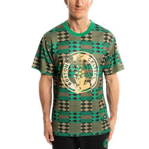 TWO HYPE ボストン セルティックス チーム パフォーマンス Tシャツ 緑 グリーン 【 TEAM GREEN TWO HYPE BOSTON CELTICS KENTE PERFORMANCE TSHIRT 】 メンズファッション トップス Tシャツ カットソー
