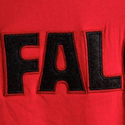 ミッチェル&ネス MITCHELL & NESS アトランタ ファルコンズ ブイネック Tシャツ 赤 レッド メンズファッション トップス カットソー メンズ 【 Atlanta Falcons Mitchell And Ness Overtime Win V-neck T-s