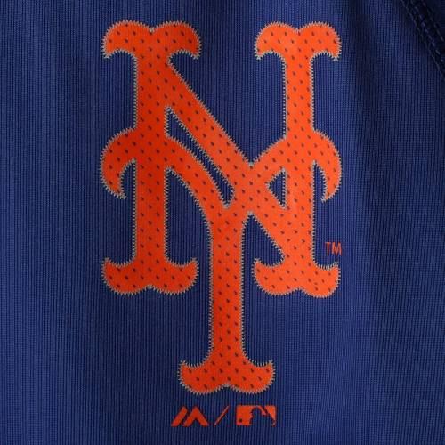 マジェスティック MAJESTIC メッツ 子供用 Tシャツ キッズ ベビー マタニティ トップス ジュニア 【 New York Mets Youth Emergence T-shirt - Royal 】 Royal