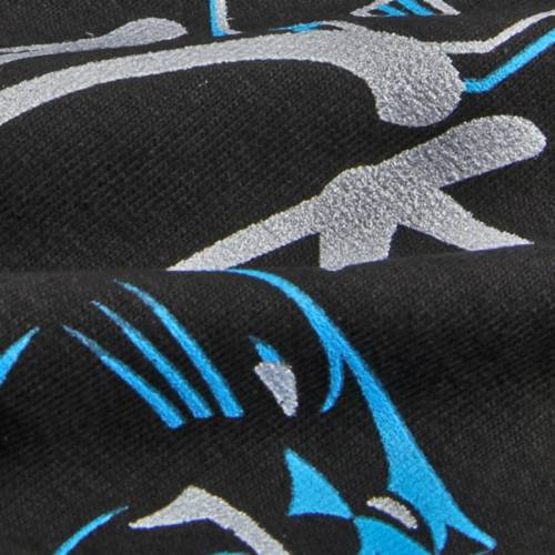 マジェスティック MAJESTIC カロライナ パンサーズ Tシャツ 【 CAROLINA PANTHERS CARDIAC CATS TSHIRT BLACK 】 メンズファッション トップス カットソー 送料無料