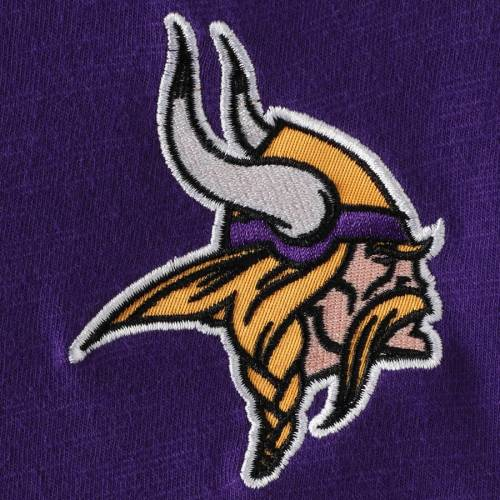 HANDS HIGH ミネソタ バイキングス ゲーム スリーブ Tシャツ 紫 パープル メンズファッション トップス カットソー メンズ 【 Minnesota Vikings Game On Sueded Slub Long Sleeve T-shirt - Purple 】 Purple