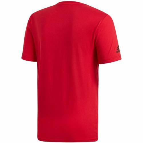 アディダス ADIDAS チーム Tシャツ 【 TEAM MANCHESTER UNITED DNA TSHIRT RED 】 メンズファッション トップス カットソー 送料無料