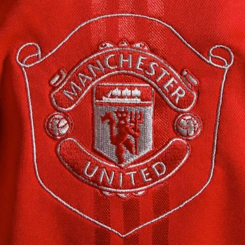 アディダス ADIDAS スリーブ Tシャツ 赤 レッド メンズファッション トップス カットソー メンズ 【 Manchester United Icons Long Sleeve T-shirt - Red 】 Red