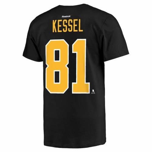 リーボック REEBOK ピッツバーグ Tシャツ 黒 ブラック メンズファッション トップス カットソー メンズ 【 Phil Kessel Pittsburgh Penguins Alternate Name And Number T-shirt - Black 】 Black