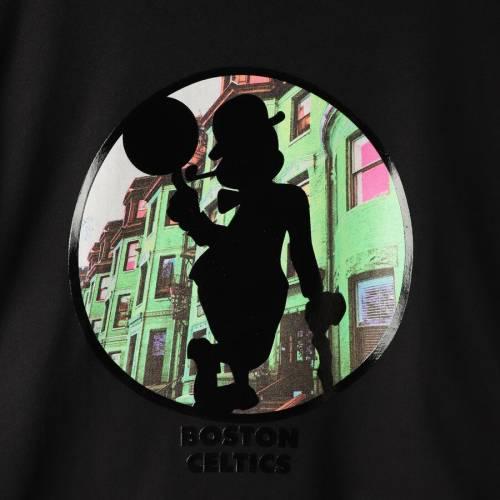 FISLL ボストン セルティックス シティ Tシャツ 【 BOSTON CELTICS CITY LANDMARK TSHIRT BLACK 】 メンズファッション トップス カットソー 送料無料