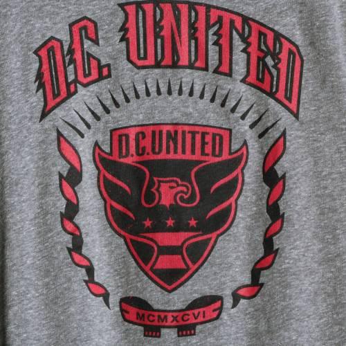 アディダス ADIDAS Tシャツ チャコール D.C. 【 ADIDAS UNITED TRUE COLORS TRIBLEND TSHIRT HEATHERED CHARCOAL 】 メンズファッション トップス Tシャツ カットソー