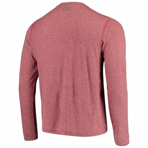 アンダーアーマー UNDER ARMOUR ケンタッキー パフォーマンス スリーブ Tシャツ 赤 カーディナル メンズファッション トップス カットソー メンズ 【 Kentucky Derby Performance Long Sleeve T-shirt - Ca
