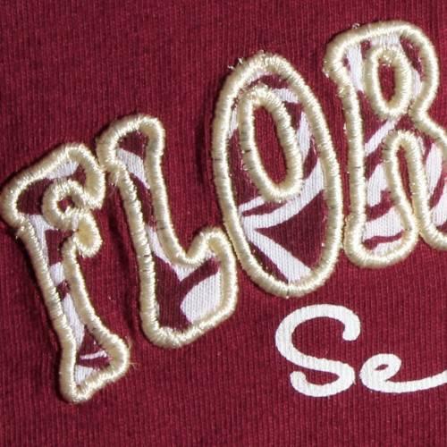 COLOSSEUM フロリダ スケートボード ベビー 赤ちゃん用 スリーブ Tシャツ 赤ちゃん 幼児 キッズ マタニティ ジュニア 【 Florida State Seminoles Girls Toddler Birdie Long Sleeve T-shirt And Skirt Set - Garnet