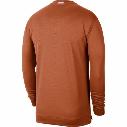 ナイキ NIKE テキサス バスケットボール スリーブ Tシャツ 橙 オレンジ メンズファッション トップス カットソー メンズ 【 Texas Longhorns Basketball Spotlight Long Sleeve T-shirt - Texas Orange 】 Texas O