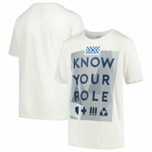 OUTERSTUFF 子供用 Tシャツ 白 ホワイトWHITE OUTERSTUFF NEW YORK EXCELSIOR YOUTH OVERWATCH LEAGUE ROLE PLAYER TSHIRTキッズ ベビー マタニティトップス Tシャツf6bgY7y